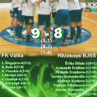 FK Valka - Rēzeknes BJSS